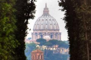 ROMA: Se Peterskirken i nøkkelhullet 1