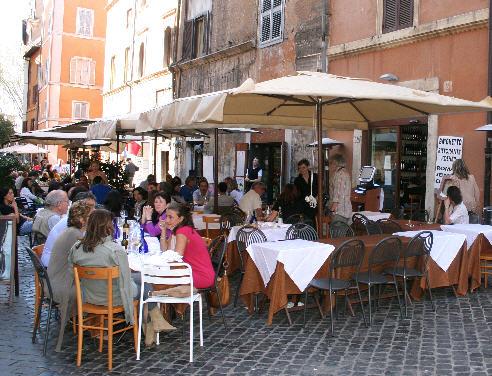 Restauranter i Roma 1