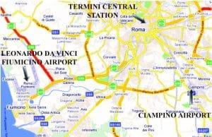 Reisen til Roma 1