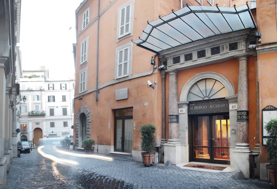 hoteller i roma nær spansketrappen