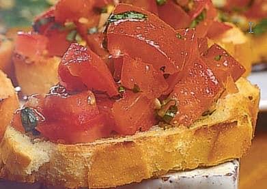 Det italienske spisekartet 1