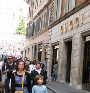 Shopping i Roma 1