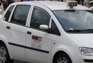 Taxi i Roma 1