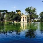 Båttur i Borgheseparken
