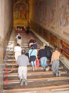 Santa Scala - den hellige trappen 1