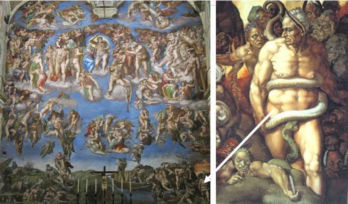 Michelangelos dommedagsfreske - Hevnen er søt! 1