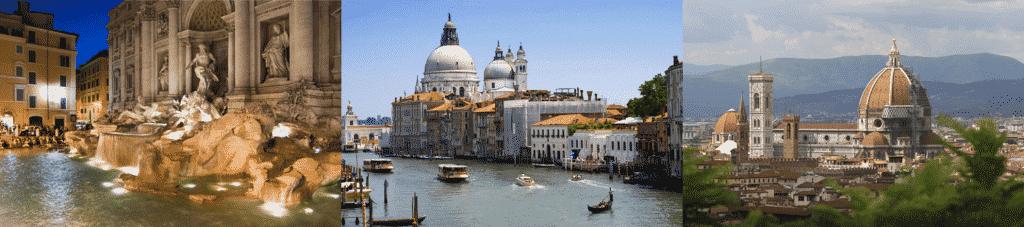 Reisearrangører til Roma 3