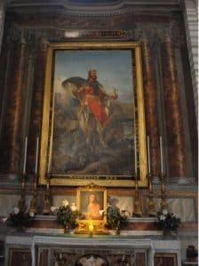 Olavsalteret i Roma 1