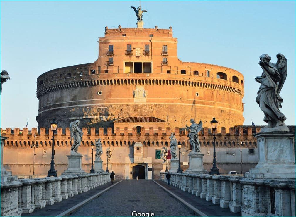 Castel Sant'Angelo - Engleborgen 1