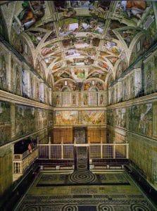 Vatikanmuseet og det sixtinske kapell 4