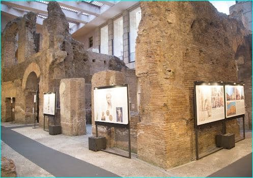 Ruiner av Domitians stadion 2