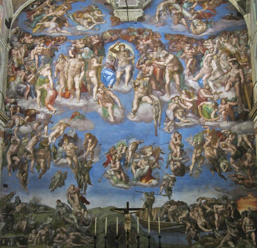 Vatikanmuseet og det Sixtinske kapell 5