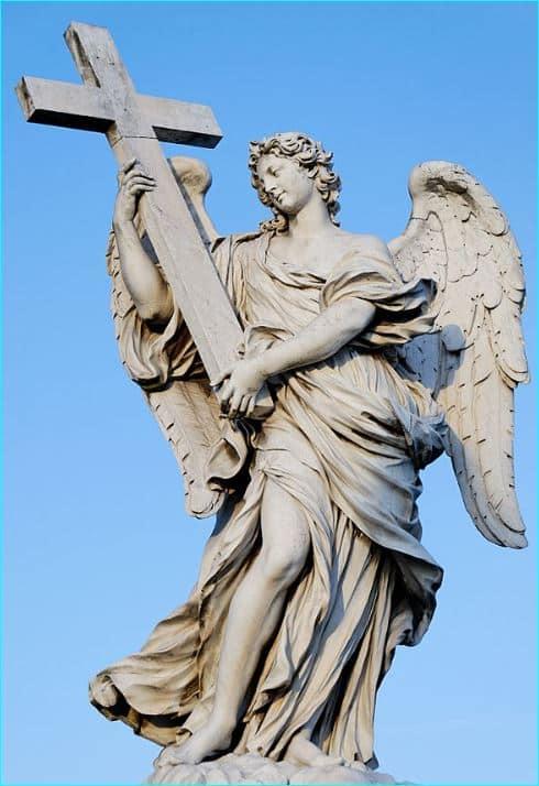 Ponte Sant'Angelo og og Jesu lidelseshistorie 3