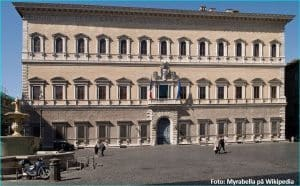 Palazzo Farnese og Birgittaklosteret 1