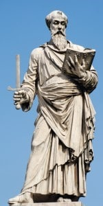 Ponte Sant'Angelo og og Jesu lidelseshistorie 1