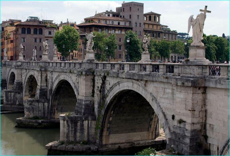 Ponte Sant'Angelo og og Jesu lidelseshistorie 2