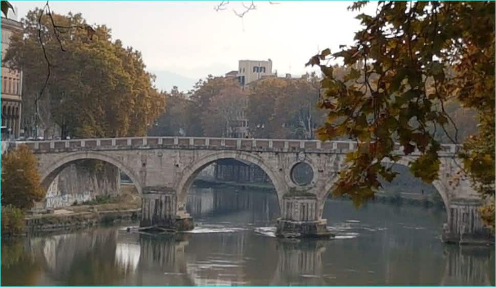 Ponte Sisto og Piazza Trilussa 1
