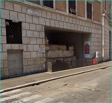 Ruiner av Domitians stadion 1