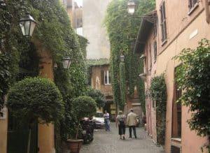 Pittoreske Trastevere og verdens første Mariakirke 1