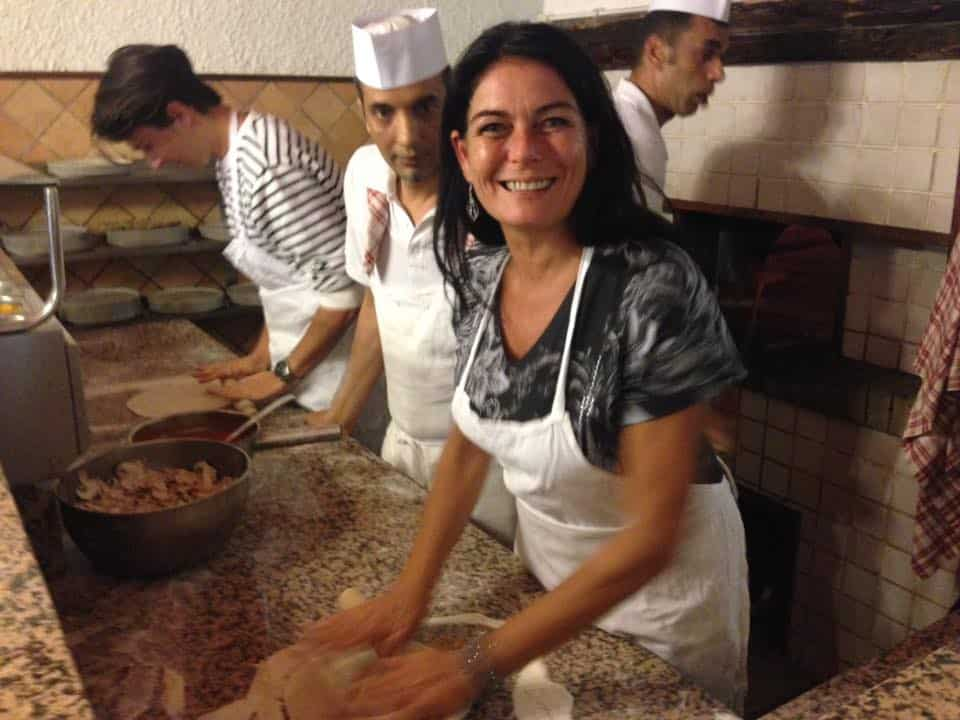 Pizzabaking i Roma 1