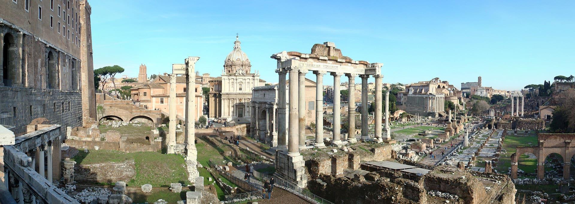 Colosseum og Forum Romanum 1