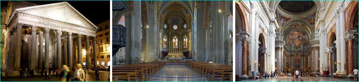Tre kirker, tre historier, tre epoker 1
