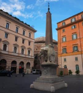 Piazza della Minerva og Santa Maria Sopra Minerva 3