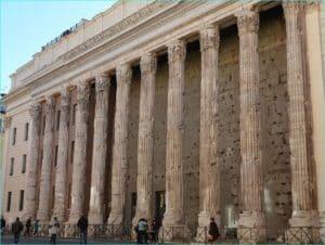 Hadrians tempel 1