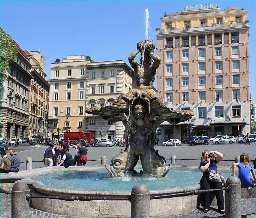 Piazza Barberini 1